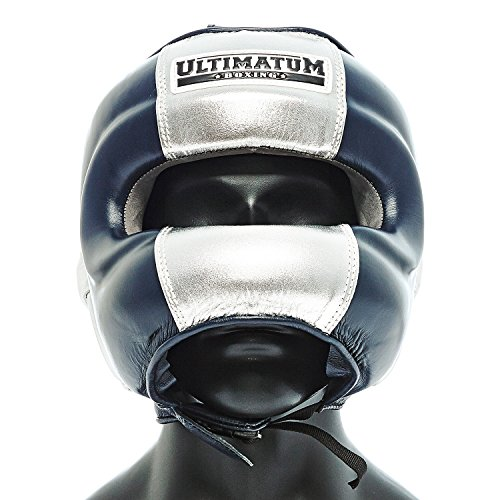 Ultimatum Boxing Gen3FaceBar Navy Professional Facebar Headgear