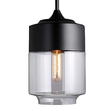 Amazon.com: ZUEN Lámpara de techo nórdica moderna de cristal ...
