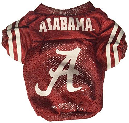 Sporty K9 Collegiate Alabama Crimson Tide Football Dog Jersey, XX-Small