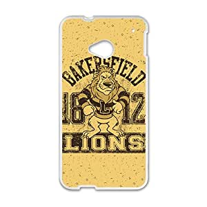 Lion Logo Custom Protective Hard Phone Cae For HTC One M7