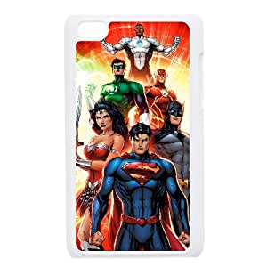 Justice League iPod Touch 4 Case White NKZHIQQ1583