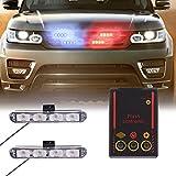 Molie 12V 4LED Mini LED Flash StrobeCar Police Emergency warning Light High Brightness Car Styling 3 Flashing Fog lights