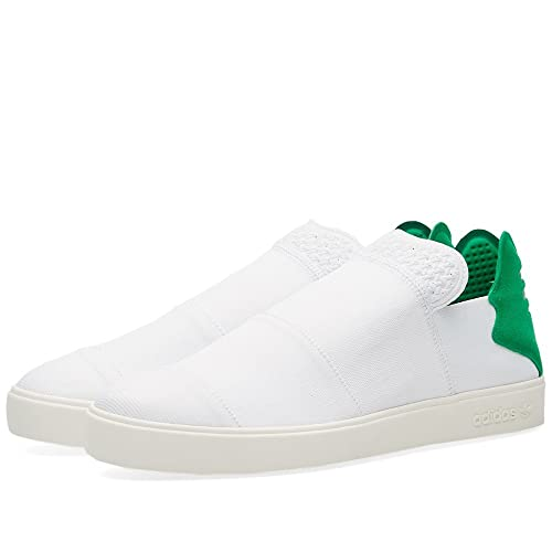 d548cdecd Adidas Consortium x Pharrell Williams Men Elastic Slip-On - Pink Beach ( White Green)  Amazon.ca  Shoes   Handbags