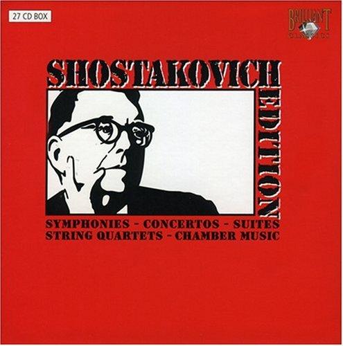 Shostakovich Edition: Symphonies -  Concertos - Suites - String Quartets - Chamber Music [Box Set] [Includes Interview DVD]
