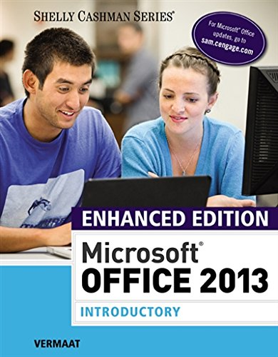 Enhanced Microsoft Office 2013: Introductory (MindTap Course List)