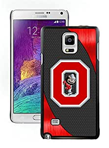 Ncaa Big Ten Conference Football Ohio State Buckeyes 14 Black Fashion Customize Design Samsung Galaxy Note 4 N910A N910T N910P N910V N910R4 Phone Case