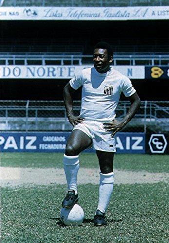 Pele 1963 Poster Art Photo Brazil Soccer Futbol Great Athletes Posters Photos