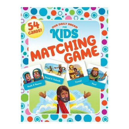 (Our Daily Bread for Kids Matching Game)