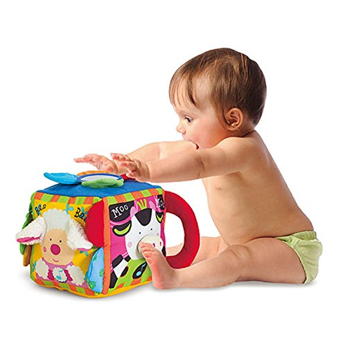 Melissa & Doug 19177 K's Kids Musical Farmyard Cube Educational Baby Toy, Multi-Colour