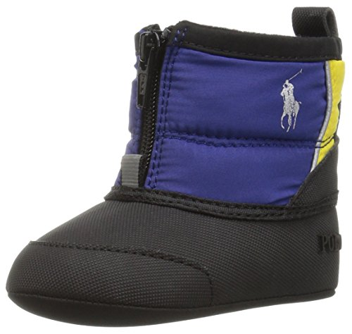 Ralph Lauren Layette Boys' Avalanche Royal Boot, Navy/Black, 3 M US - Boots Ralph Baby Lauren