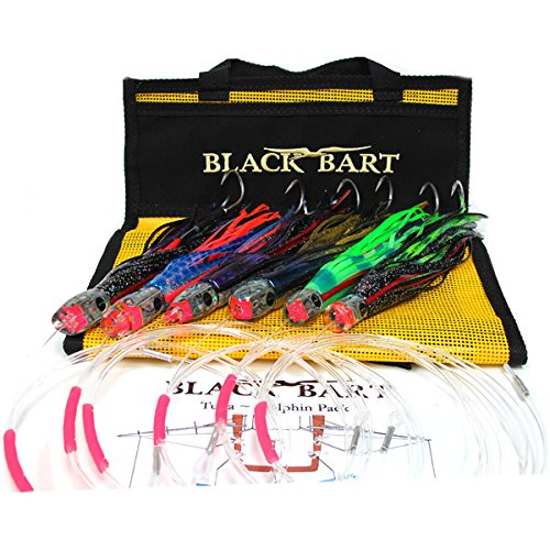 Black Bart TUNA / DOLPHIN RIGGED PACK 20-50 lb. TACKLE (2065)