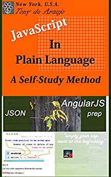 javascript in plain language a self study method json and angularjs prep by