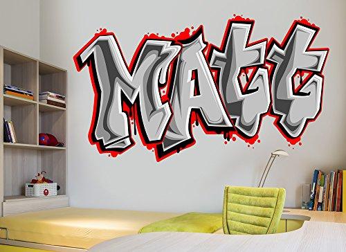 Customizable Graffiti Font Wall Decals
