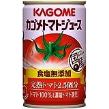 カゴメ トマトジュース 食塩無添加 缶160G×30