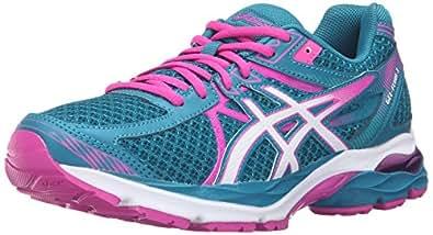 ASICS Women's Gel-Flux 3 Running Shoe, Ocean Depth/White/Pink Glow, 5 M US