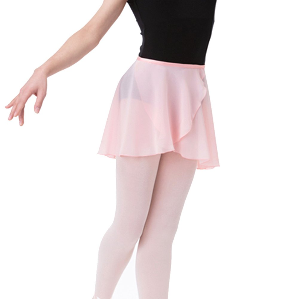 faf81d6acb0 SportingBodybuilding Ballet Skirt Chiffon Wrap Dance Skirt for Women   Girls   1541021758-381168  -  9.41