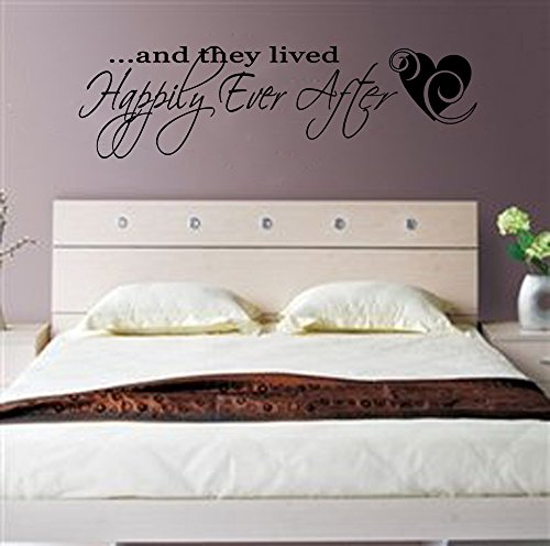 Lived Happily After Decal Black product image