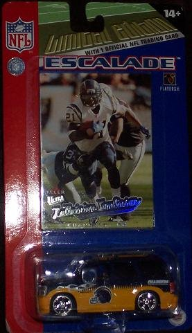 (San Diego Chargers LaDainian Tomlinson 2005 NFL Diecast Escalade with Fleer Ultra Card)
