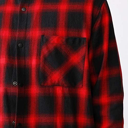 (VOGUISH/ヴォーギッシュ) シャツコート風オンブレチェックロングシャツ