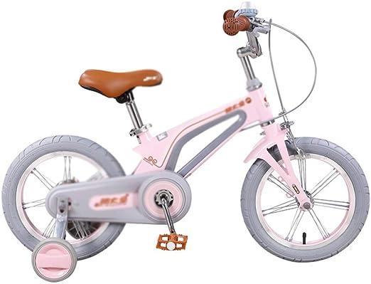 DYFYMXBicicleta niño Bicicleta de Pedal Niña niño Bicicleta ...