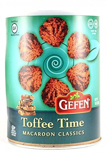 Gefen Macaroon Classics, Toffee Time Gluten-Free Kosher For Passover 10 oz.