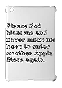Please God bless me and never make me have to enter another iPad mini - iPad mini 2 plastic case