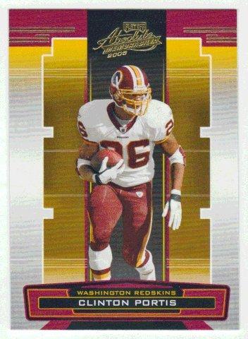 Clinton Portis (Football Card) 2005 Playoff Absolute Memorabilia # 145