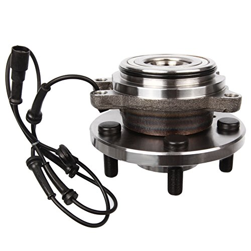ECCPP Front Wheel Hub Bearing Assembly 5 Lugs w/ABS for 1999-2004 Land Rover Compatible with ()
