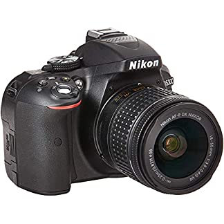 Nikon D5300 24.2MP Digital SLR Camera(Black) with AF-P 18-55 and AF-P DX NIKKOR 70-300mm f/4.5-6.3G VR Kit, Free Camera… 8
