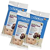 Baby : Dr. Brown's Tooth and Gum Wipes, 30 Count, 3-Pack