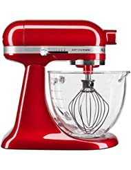 KitchenAid KSM3306XCA Artisan Mini Design Series 3.5 Quart Tilt-Head Stand Mixer, Candy Apple