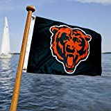 WinCraft Chicago Bears Boat and Golf Cart Flag