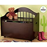 KidKraft Limited Edition Toy Box - Espresso