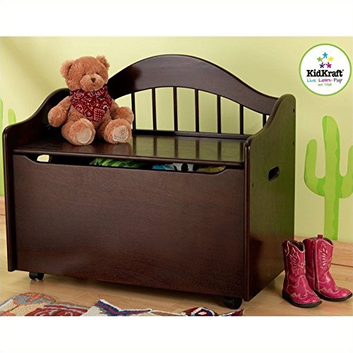 KidKraft Limited Edition Toy Box - Espresso by KidKraft