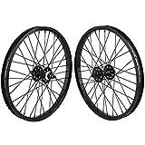 SE Bikes 20' BMX Wheelset - BLACK