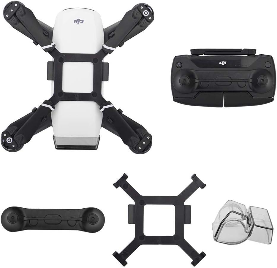 CAOMING Controller Joystick Protector Holder for DJI Spackage//Mavic Pro Black Durable Color : White