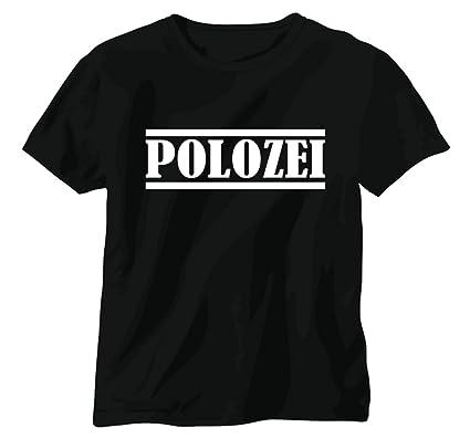 Netspares T Shirt Funshirt Shirt Polozei Vw Polo Tuning Polizei Auto