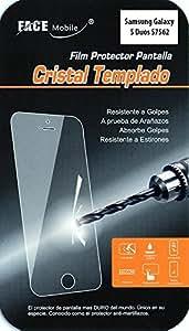 Protector de Cristal Templado para Samsung Galaxy S Duos S7562