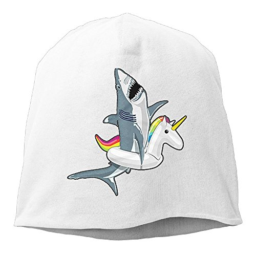 Hat Beanies Cap Skull Unisex Stretch Men Soft Funny Wool Unicorn Women Shark Gifts White qYZYAT