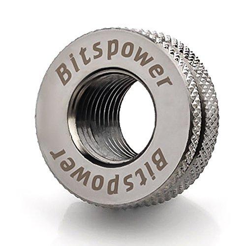 "Bitspower G1/4"" CaseTop Water-Fill Set, Black Sparkle"