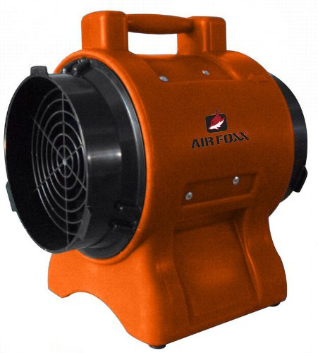 Utility Circulator (Air Foxx UT1100a High Velocity 1/3-HP 1100-CFM 8-Inch Utility Dryer and Air)
