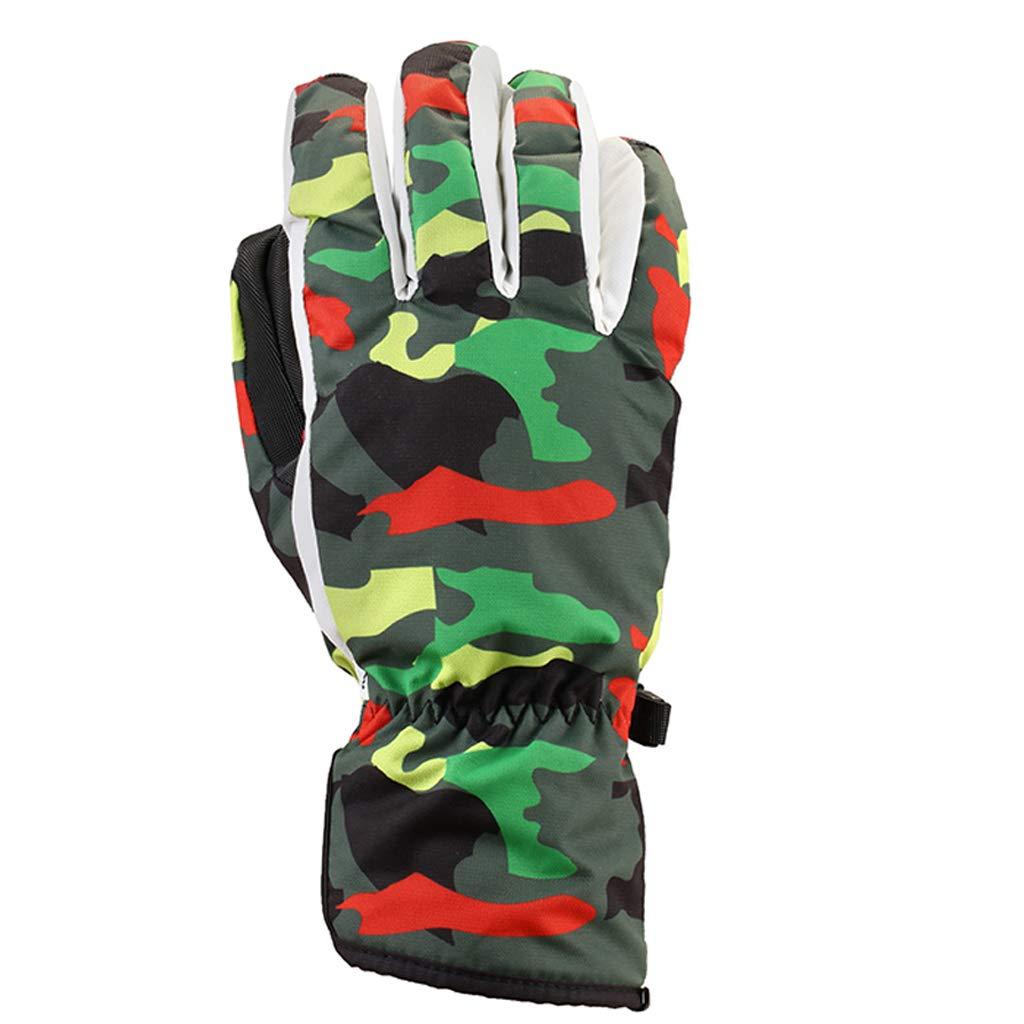 Camouflage - Handschuhe Für Männer Und Frauen, Anti - Fog Und Rutschfeste Handschuhe Wasserdichte Handschuhe - Fahrrad, Vater