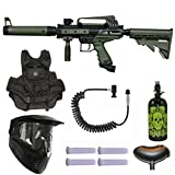 Tippmann Cronus Tactical Paintball Gun 3Skull N2 Vest Mega Set + Remote - Olive