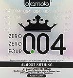 Okamoto 0.04 Zero Zero Four Condoms 24 pack