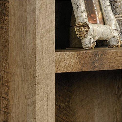 Sauder 417223 East Canyon 5 Shelf Bookcase, L: 29.29'' x W: 13.39'' x H: 71.02'', Craftsman Oak finish by Sauder (Image #2)