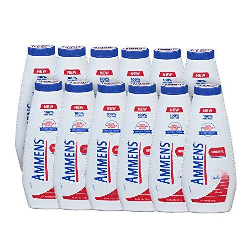 - Ammens Original Talc Free Medicated Body Powder (Pack of 12)