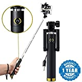 Selfie Stick With Wire/AUX Cable (No Bluetooth Or Battery) For All Smartphones