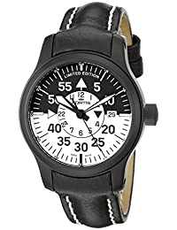 Fortis Men's 672.18.11 L B-42 Flieger Black Cockpit GMT Watch