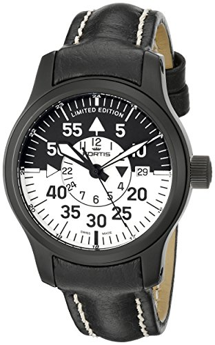 Fortis Men's 672.18.11 L B-42 Flieger Black Cockpit Watch
