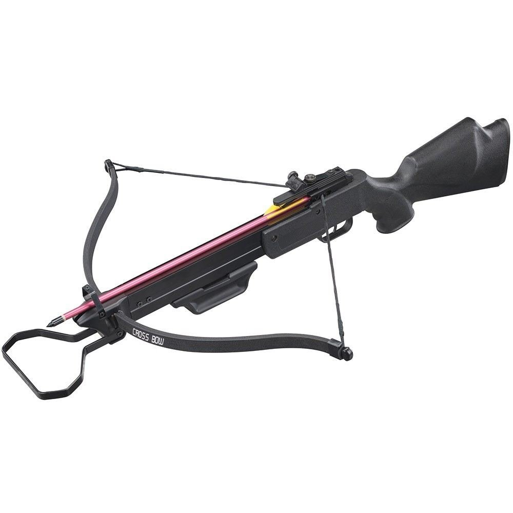 Hunting Crossbows 130 lbs Black Hunting Crossbow Archery bow with 2 Arrows Bolts Crossbow Bolts